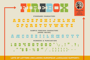 Firebox Font Fonts RetroSupply Co