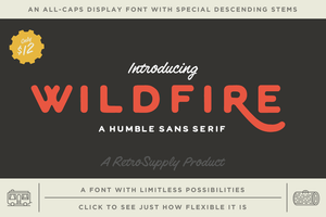Fonts - WildFire Font