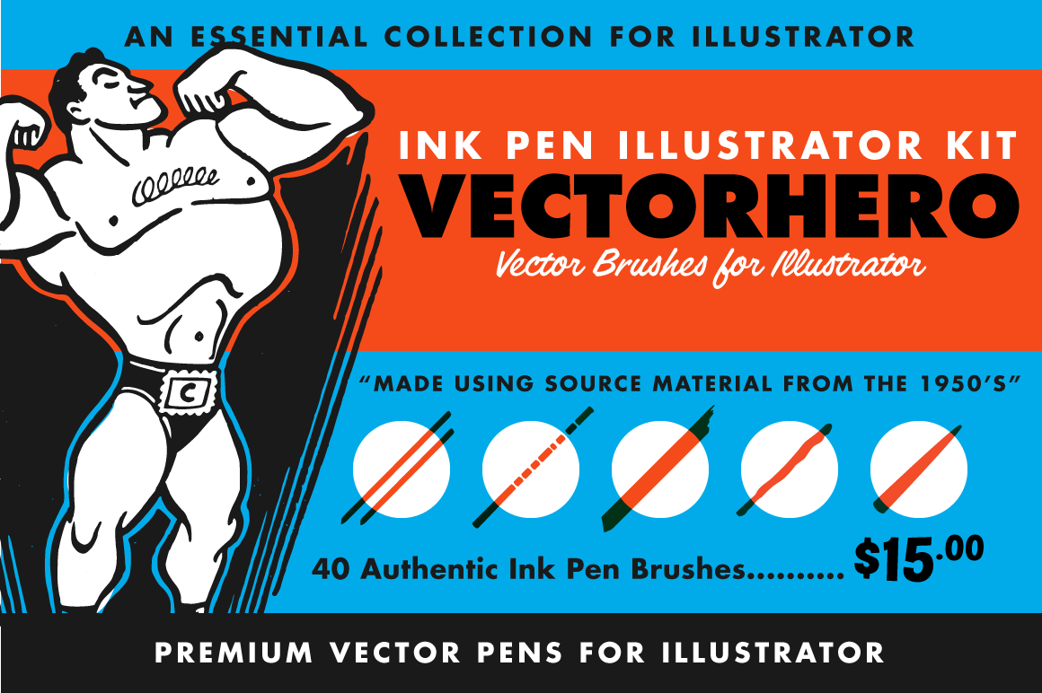 Illustrator - The Vector Brush Toolbox