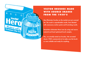 VectorHero | Ink Brush Pack for Adobe Illustrator