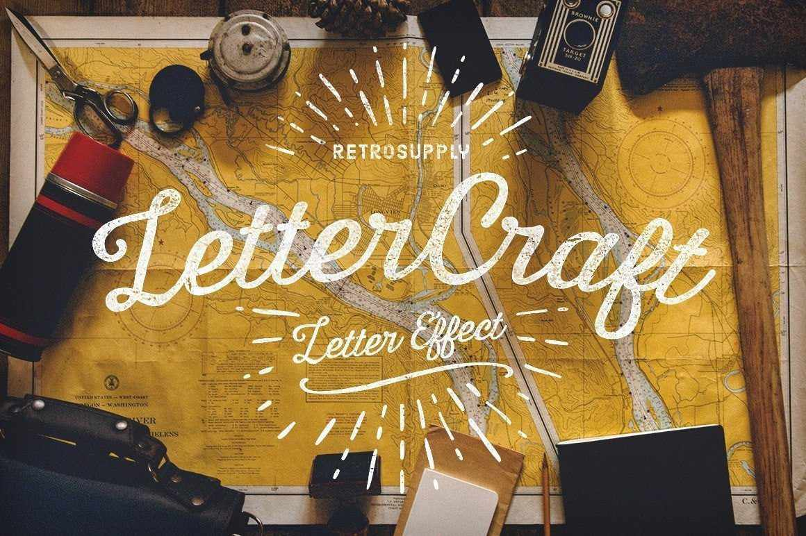 LetterCraft Adobe Photoshop RetroSupply Co