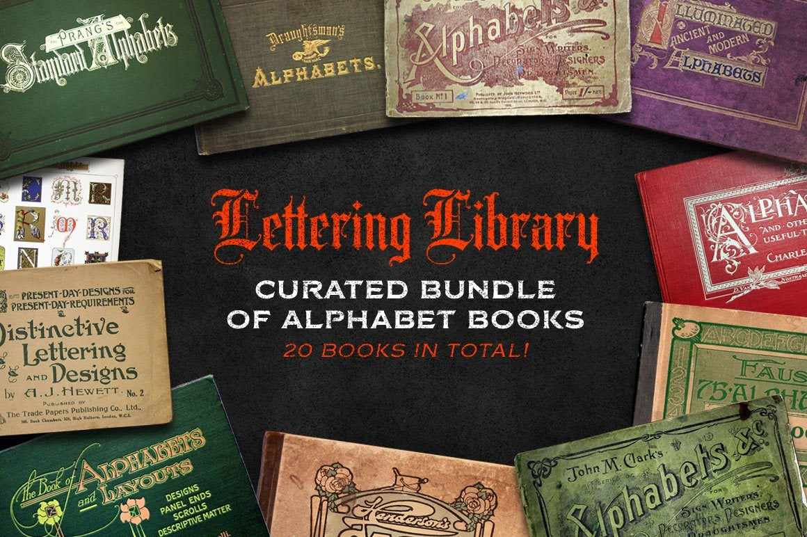 Lettering Library | Alphabet Bundle Resources RetroSupply Co.