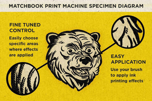 Matchbook Print Machine Adobe Photoshop RetroSupply Co