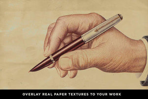 Paper Artifacts | Texture & Ephemera Bundle Textures RetroSupply Co