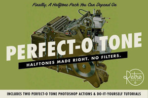 Perfect-O-Tone Adobe Photoshop RetroSupply Co