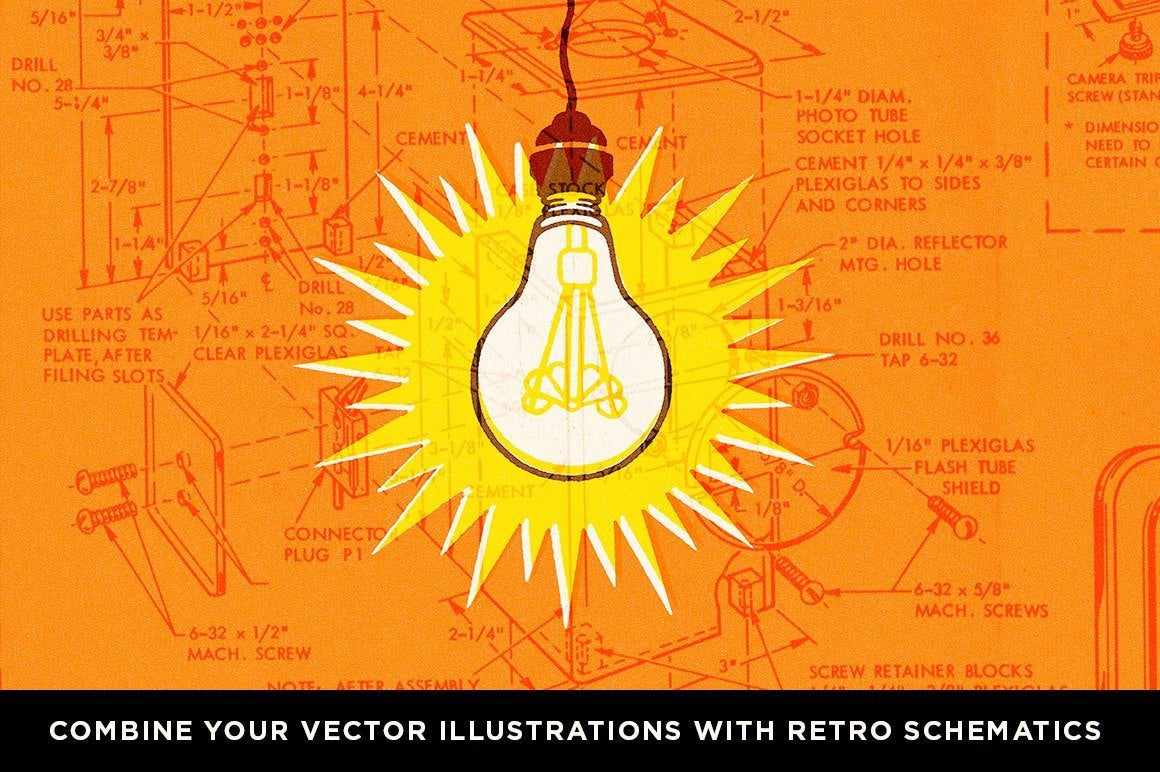 Retro Effects | Classic Collection Bundle for Photoshop Adobe Photoshop RetroSupply Co
