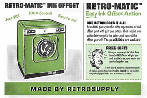 Retro-Matic - Realistic Ink Offset Adobe Photoshop RetroSupply Co