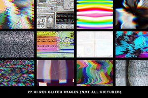 RetroGlitch | Photoshop Glitch Bundle Adobe Photoshop RetroSupply Co