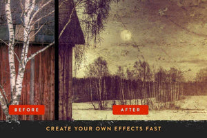 RetroLab Premium Photo Effect Kit Adobe Photoshop RetroSupply Co