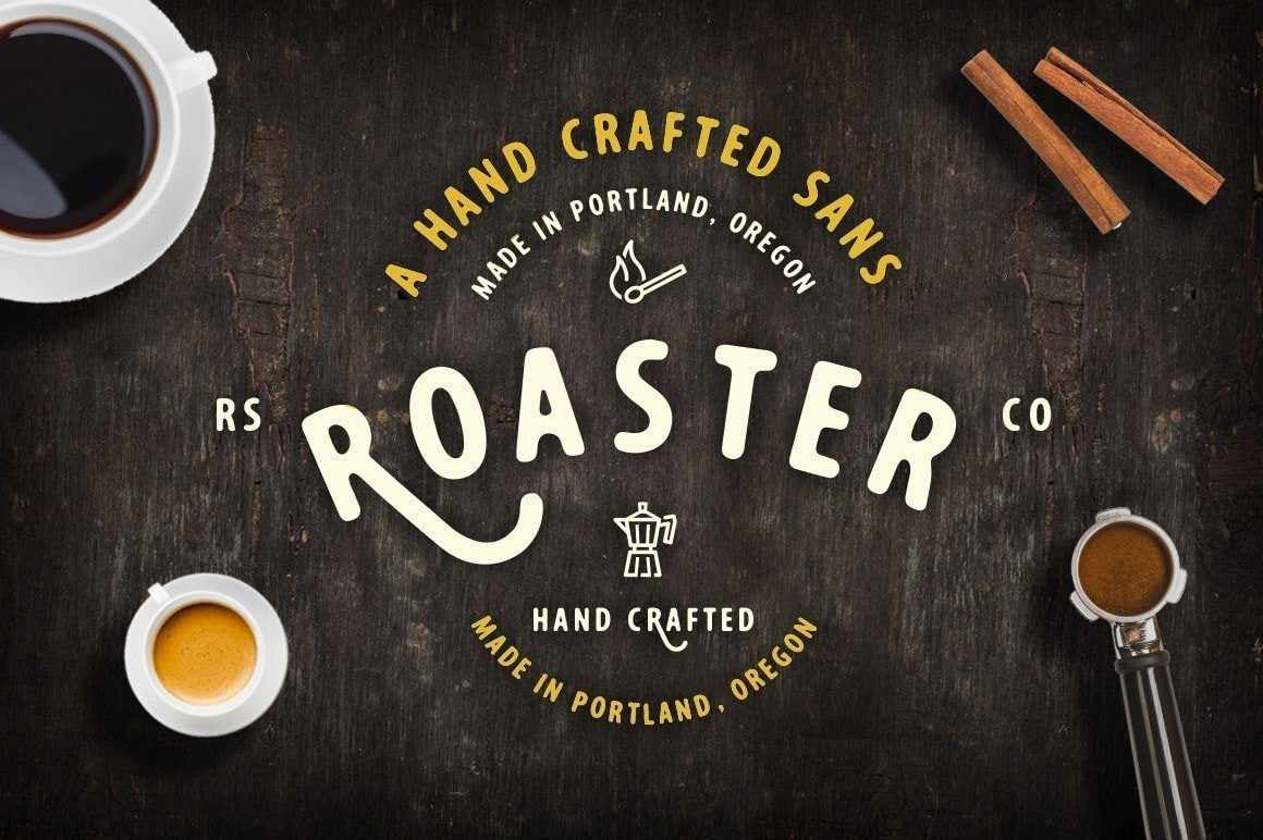 Roaster Fonts RetroSupply Co