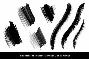 SpaceRanger Brush Pack for Procreate Brushes RetroSupply Co.