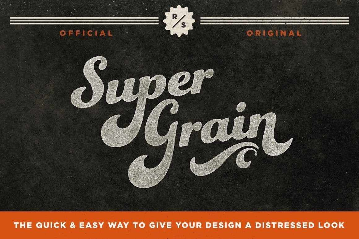 SuperGrain for Photoshop Adobe Photoshop RetroSupply Co