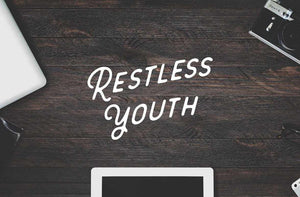 Restless Youth Script and Sans Font Collection by Hustle Supply Co.
