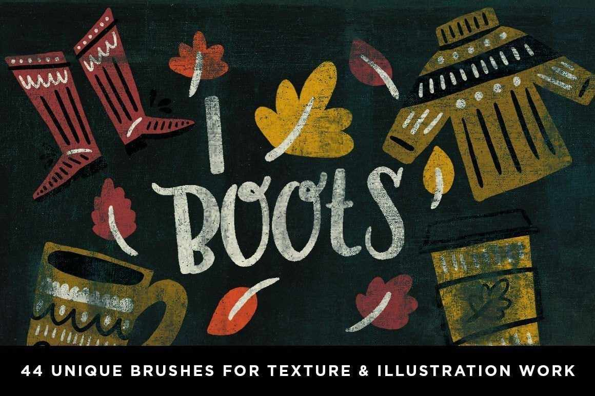 Tarot Drawing Brushes for Adobe Photoshop by RetroSupply