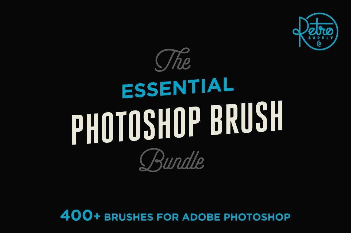 The Essential Photoshop Brush Bundle Adobe Photoshop RetroSupply Co.