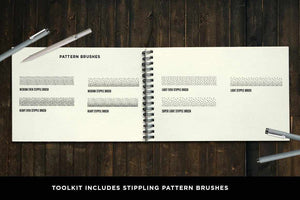 The Hand Drawn Illustrator Brush Bundle Adobe Illustrator RetroSupply Co