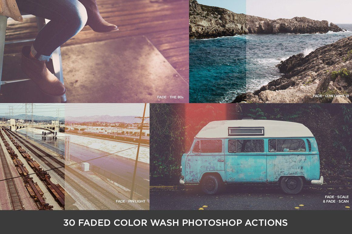 The One-Hour Photo Filter Collection Adobe Photoshop RetroSupply Co
