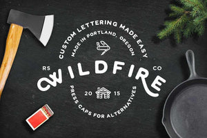 Wildfire Retro Font by RetroSupply