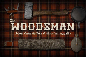 The Woodsman | Woodsy Photoshop Pack Actions RetroSupply Co