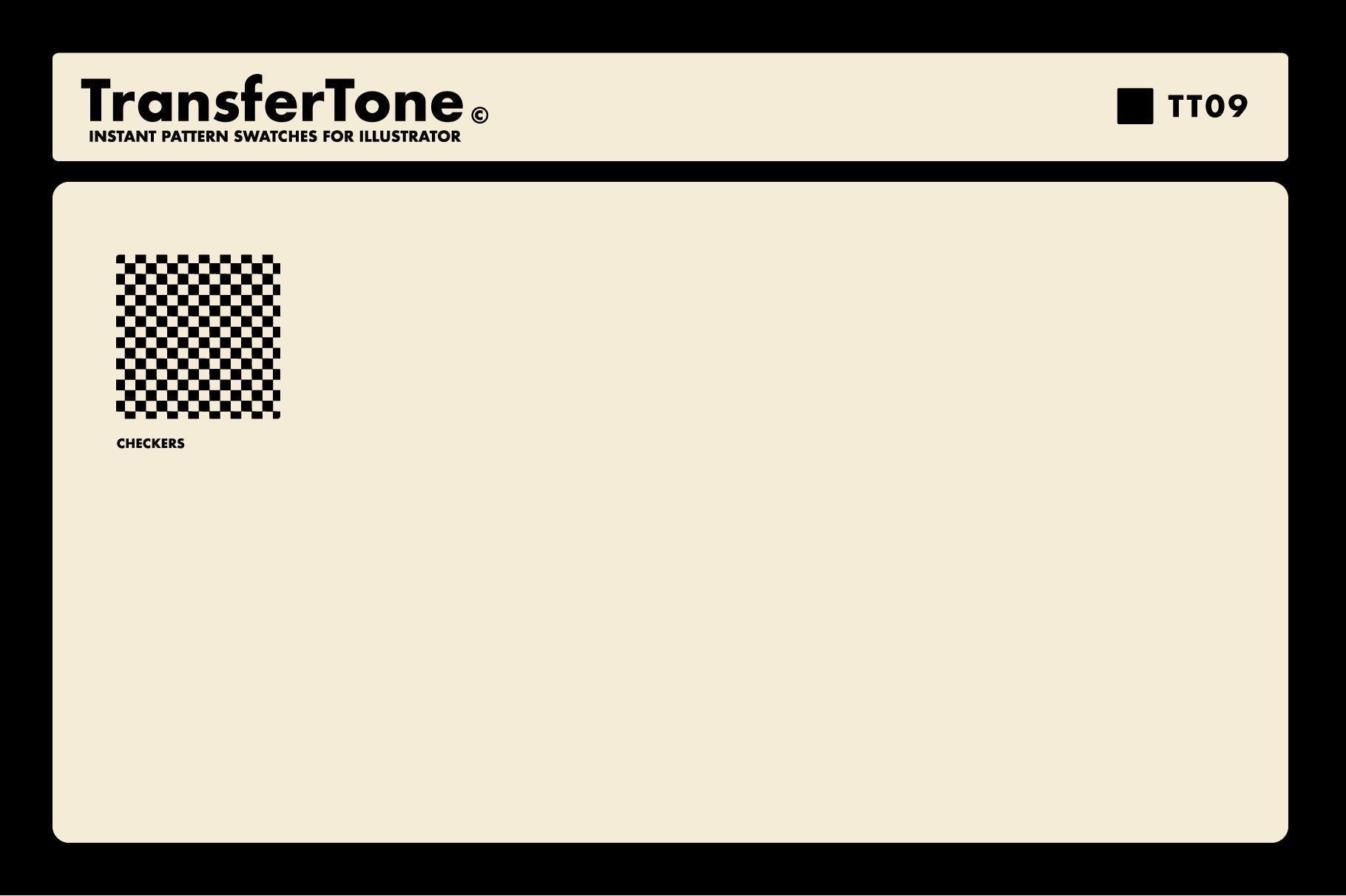 TransferTone | Dry Transfer Patterns for Adobe Illustrator Illustrator Brushes RetroSupply Co.