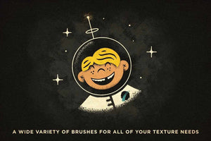 VectorFuzz | Vector Texture Brushes for Affinity Designer Affinity Designer Brushes RetroSupply Co.