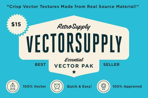 VectorSupply | Premium Retro Vector Textures Adobe Illustrator RetroSupply Co