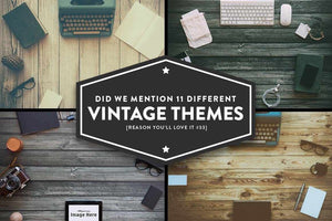 Vintage Mockup Bundle for Photoshop Adobe Photoshop RetroSupply Co