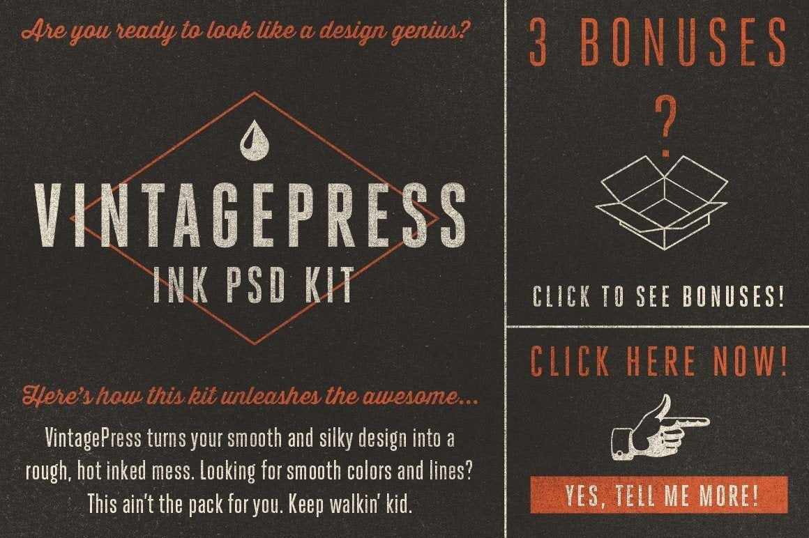 VintagePress Adobe Photoshop RetroSupply Co