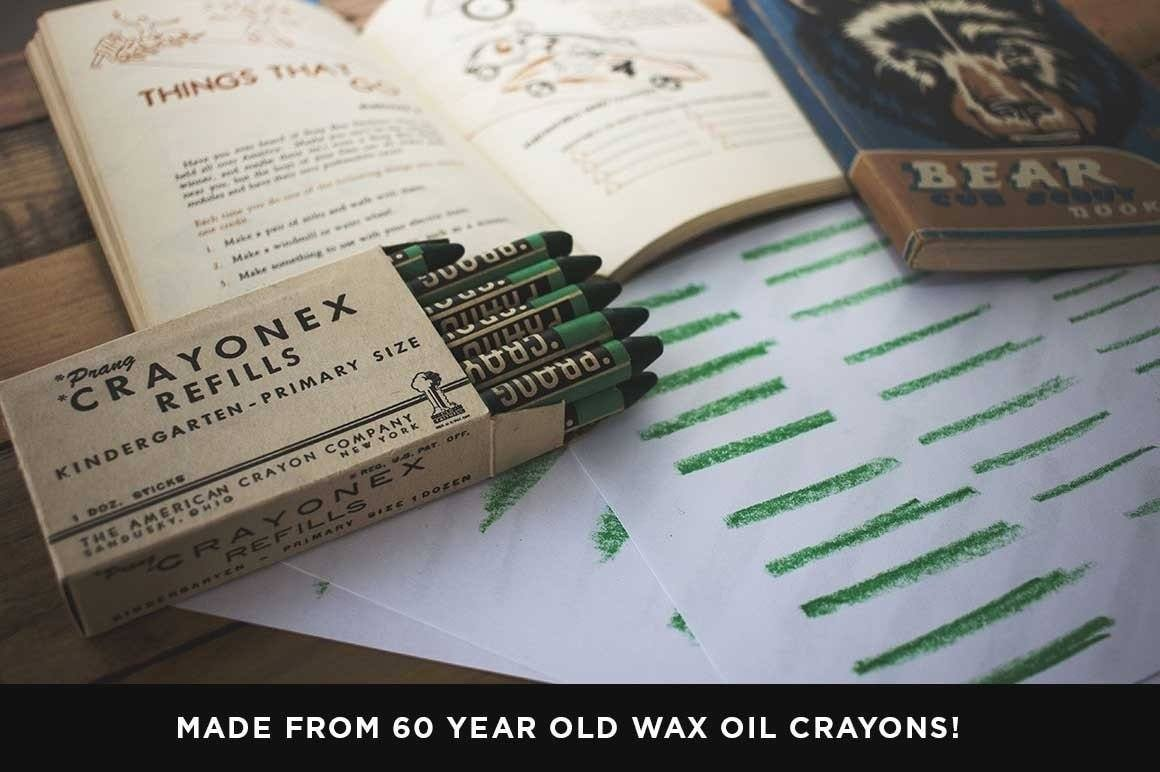 Wax & Oil Vector Brushes for Affinity Designer Affinity Designer Brushes RetroSupply Co.