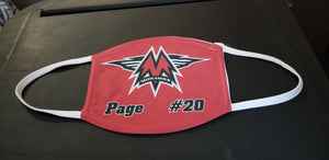 Customized Mohawk Hockey Face Mask
