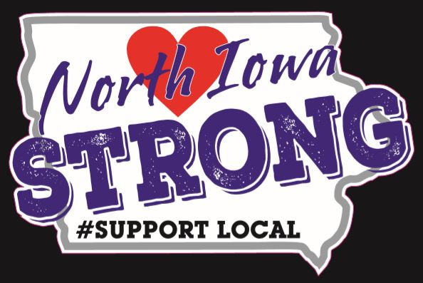 North Iowa Strong Car Decal