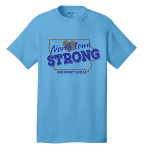 North Iowa Strong Youth T and Hoodies