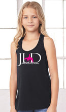 Load image into Gallery viewer, Girls Flowy Racerback Tank
