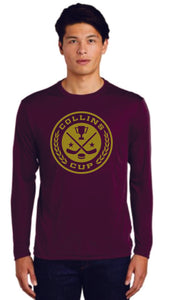 Collins Adult Dri-Fit Long Sleeve T