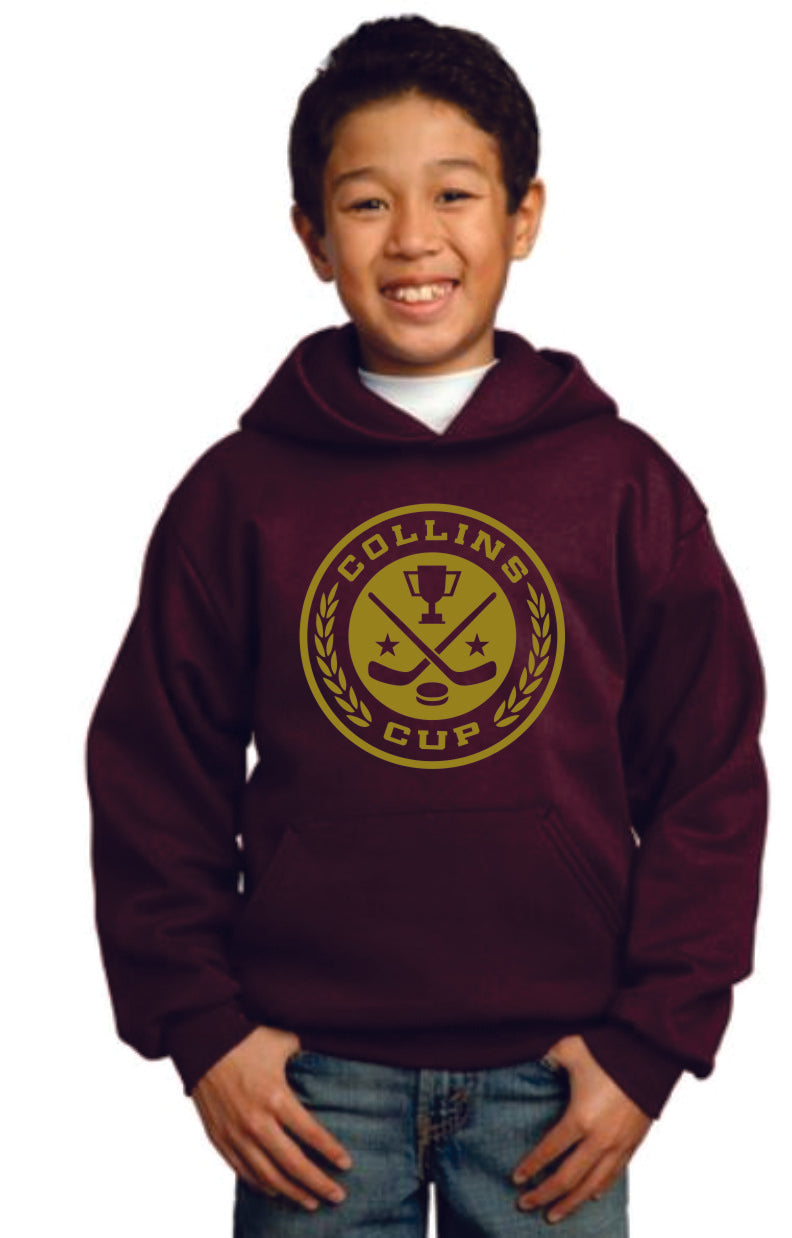 Collins Youth Hooded Sweatshirt