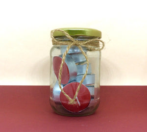 Christmas theme tealights