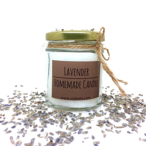 Lavender Scent Candle
