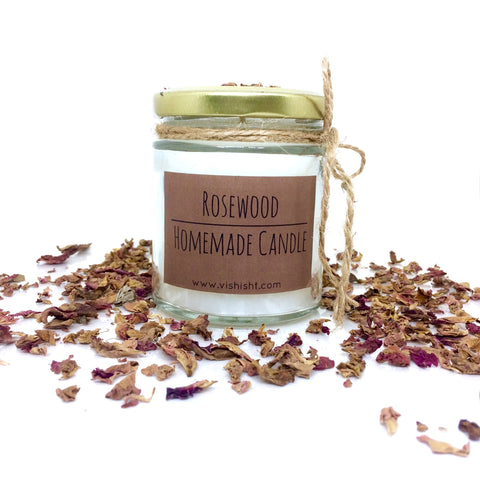 Rosewood Scent Candle