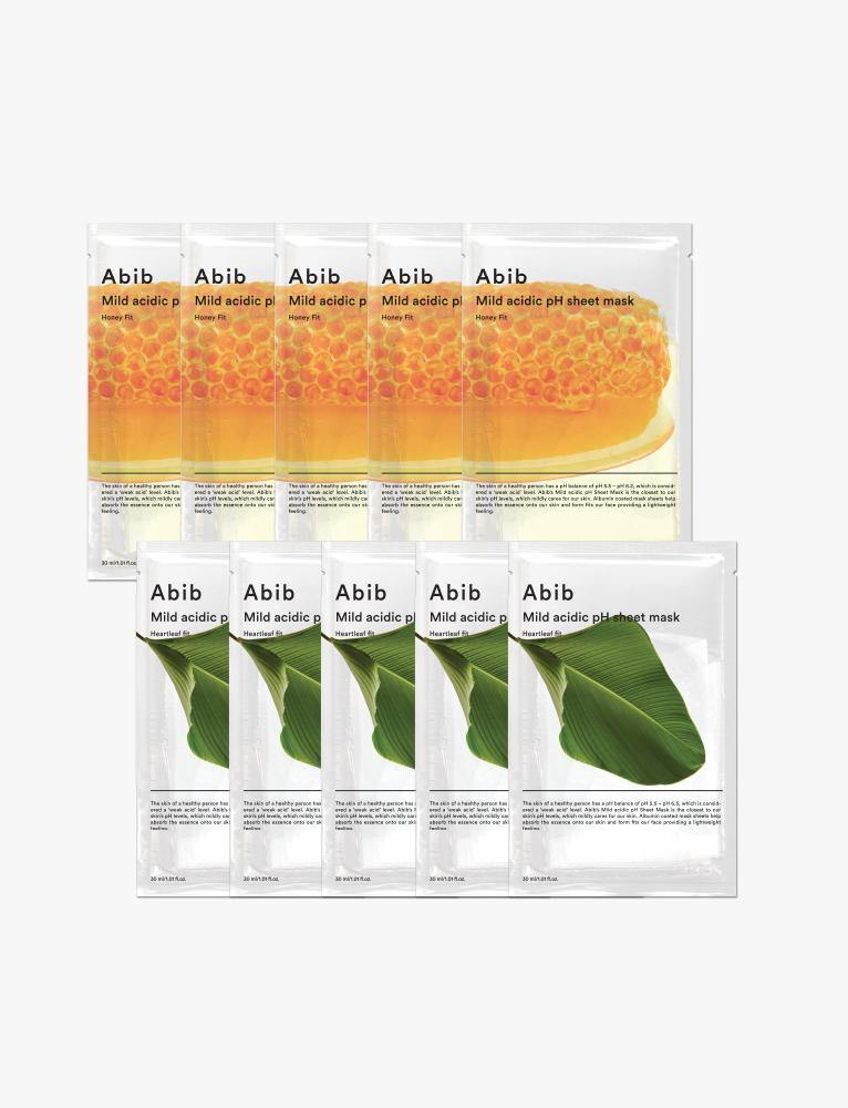 5 Honey + 5 Heartleaf fit Mild Acidic pH Mask