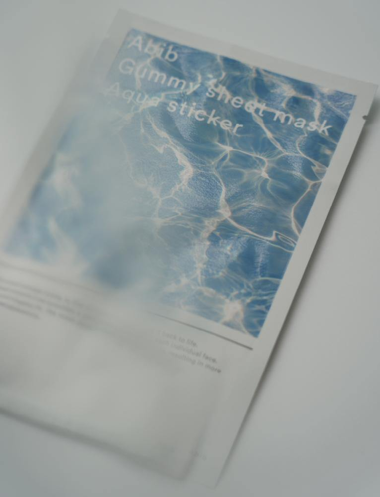 Aqua Sticker Gummy Sheet Mask