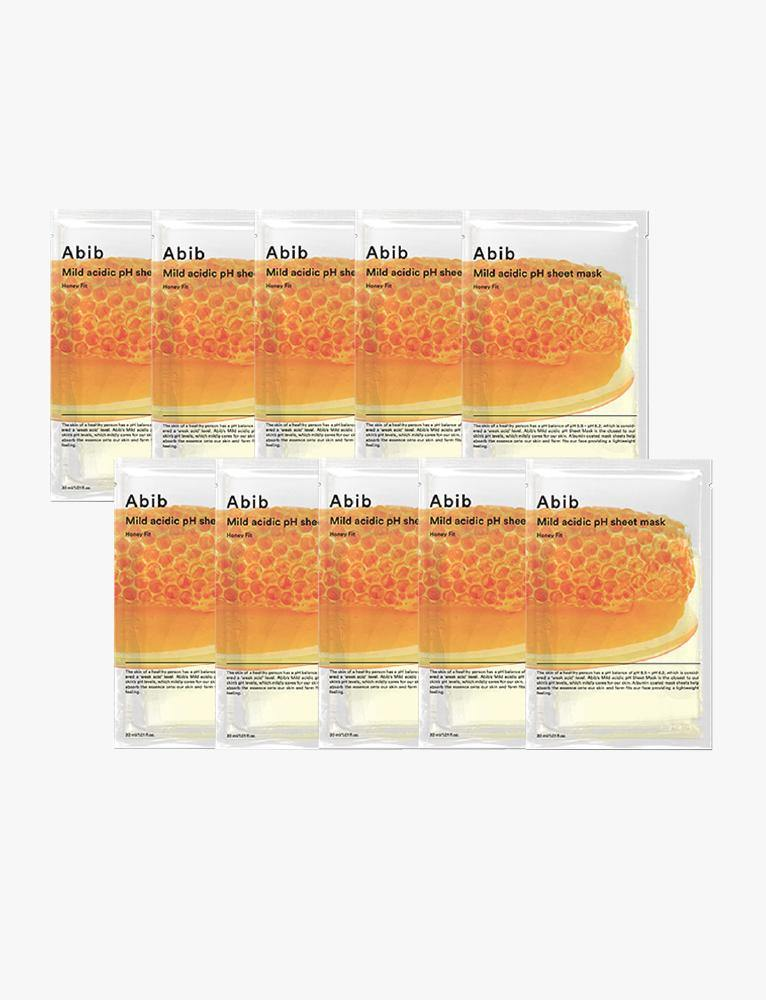 Honey Fit Mild Acidic pH Sheet Mask (10ea)