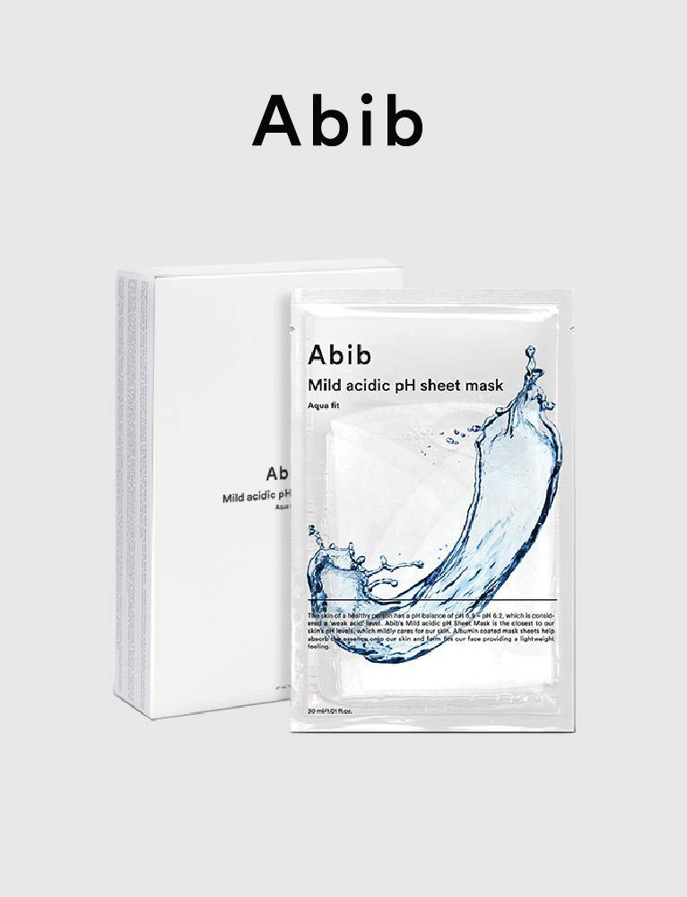 Aqua Fit Mild Acidic pH Sheet Mask (10ea)