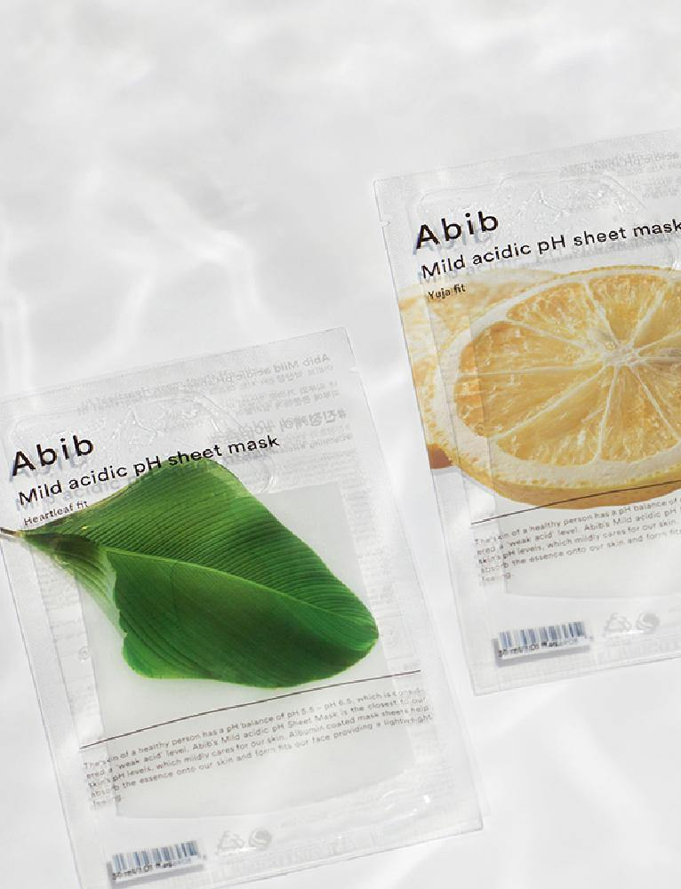 Heart Leaf Fit Mild Acidic pH Sheet Mask