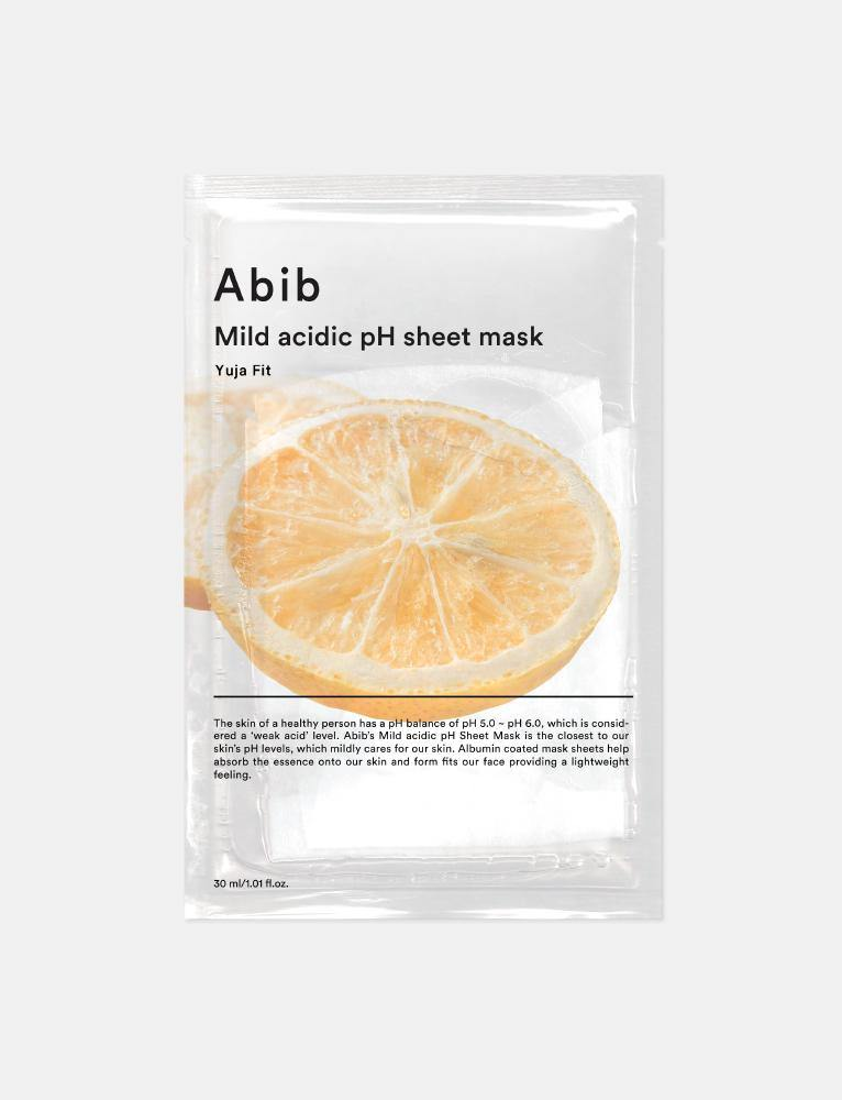 Yuja Fit Mild Acidic pH Sheet Mask