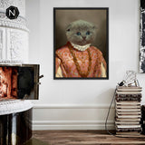 Custom Pet Canvas [Floating Frame] | Milady Drunkin' Love
