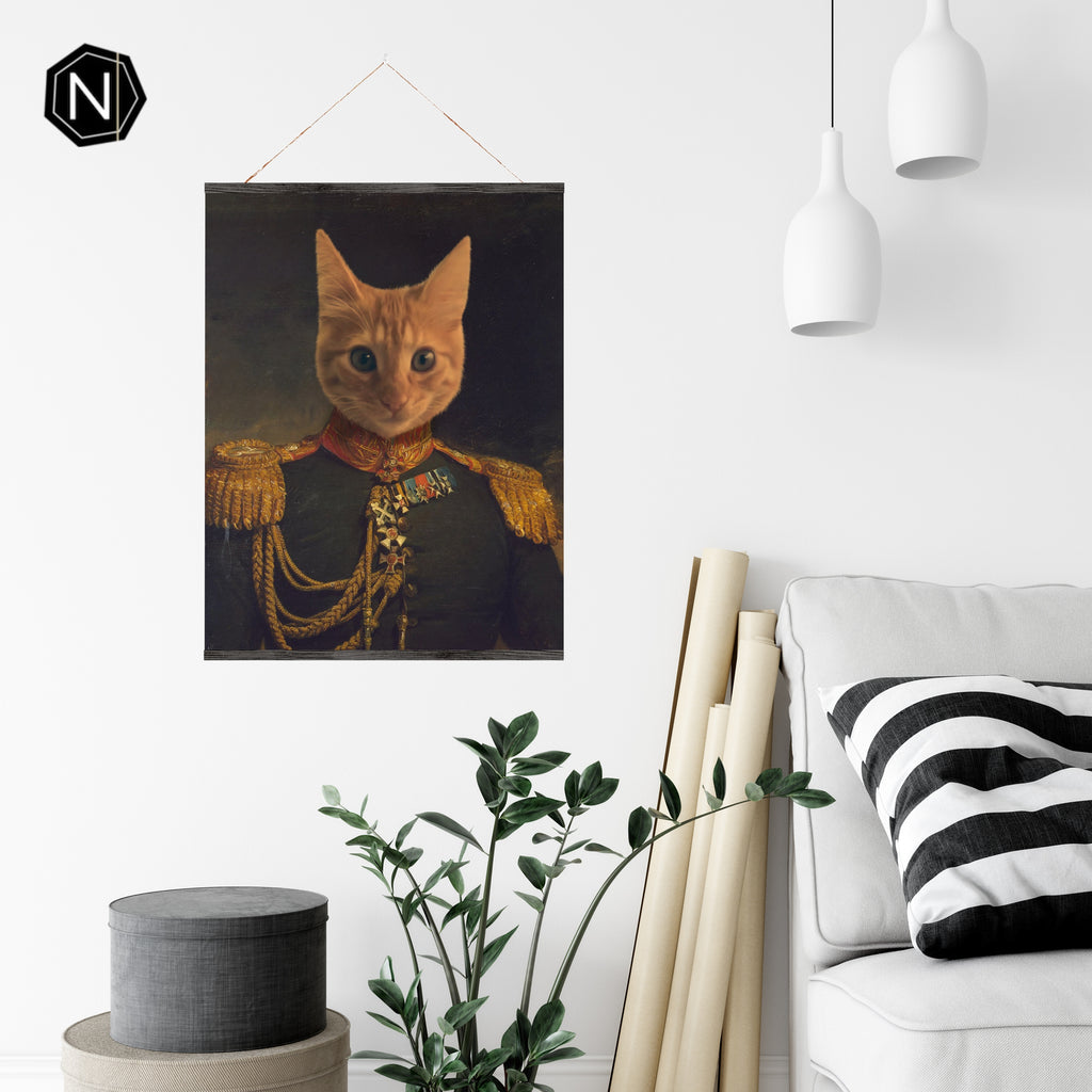 Custom Pet Fine Art Print | Lil' Prince Glutton