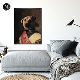 Custom Pet Fine Art Print [Framed] | Milord Chasin' Fun
