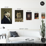 Custom Pet Fine Art Print | Mistress Poppin' My Collar