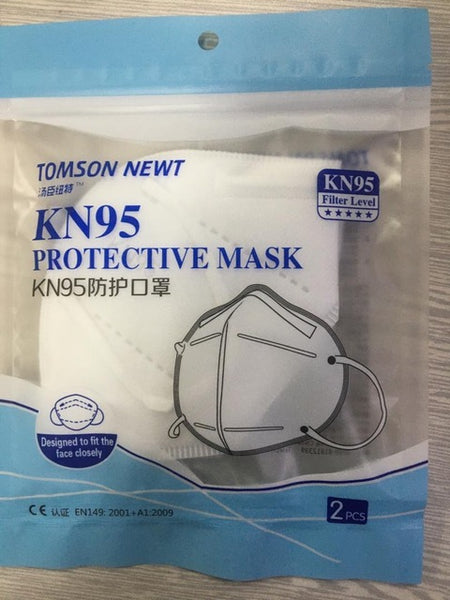 KN 95 Respirator Mask - Tomson Newt (Carton of 500 masks)