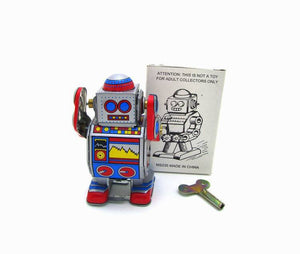 Atomic Bot - Vintage Tin Toy Robot